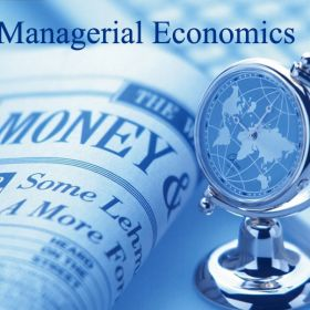 CERTIFICATE IN MANAGERIAL ECONOMICS