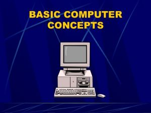 DIPLOMA IN COMPUTER CONCEPT