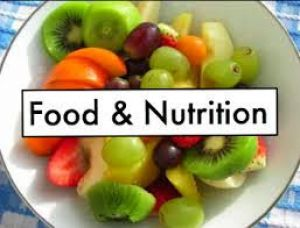 CERTIFICATE IN FOOD AND NUTRITION