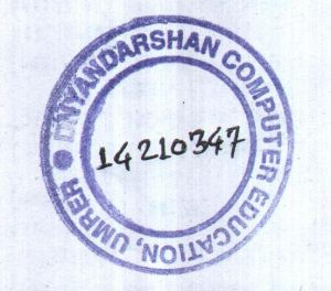 DNYANDARSHAN COMPUTER EDUCATION UMRED